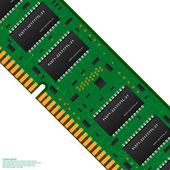Memoria de la computadora — Vector de stock