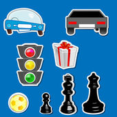 Sticker — Stock Vector