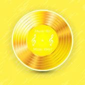 Vinyl — Vector de stock