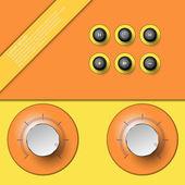 Lautstärkeregelung — Stockvektor