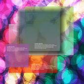 Modern colorful design window — Stock Vector