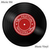 Vinyl — Stock Vector