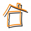 Vector de stock : Home