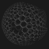 Honung, honeycomb — Stockvektor