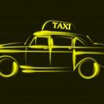 タクシー — ストックベクタ #36809719