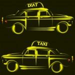 Taxi — Stockvector  #36809779