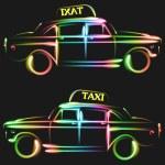 Taxi — Stockvector  #36809783