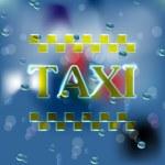 タクシー — ストックベクタ #36810187