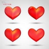 Heart, Valentine's day, holiday — Vector de stock