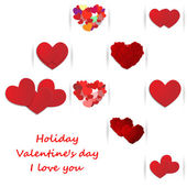 Heart, Valentine's day, holiday — Stockvector