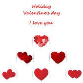 Love, Valentine's day holiday — Διανυσματικό Αρχείο