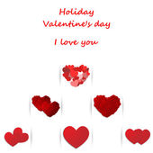 Love, Valentine's day holiday — Stock Vector