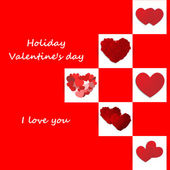Love, Valentine's day holiday — Vector de stock