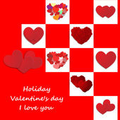 Love, Valentine's day holiday — Vecteur