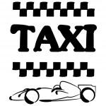 タクシー — ストックベクタ #39513071
