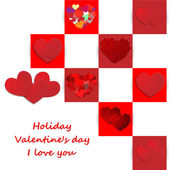 Love, Valentine's day holiday — Vettoriale Stock