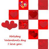 любовь, день святого валентина праздник — Cтоковый вектор