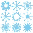 Snowflake — Vector de stock #40001703