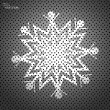 Snowflake — Vector de stock #40001729
