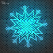 Snowflake — Vector de stock #40001755