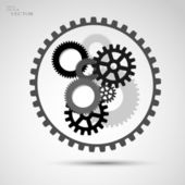 Gears — Stock Vector