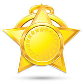 Ensemble de médailles — Vecteur
