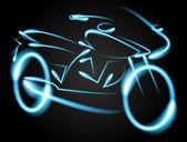 Motosiklet — Stok Vektör
