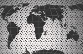 World Map Illustration — Stock Vector