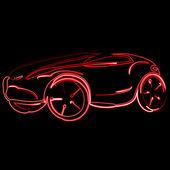 Racing cars — Stock Vector
