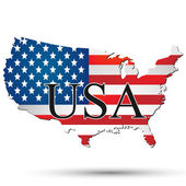 USA illustration — Stock Vector