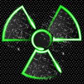 Radiation danger — Stock Vector