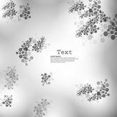 结构的分子抽象背景 — 图库矢量图片