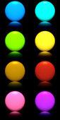 Botones con reflexión — Foto de Stock