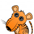 Royalty-Free Stock Vector Image: Baby Tiger