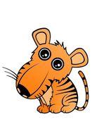 Baby Tiger — ストックベクタ