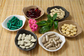 Herbal Pills — Stock Photo