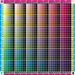 CMYK palette — Stock Vector