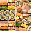 Sushi Assortment — Stock Photo
