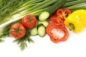 Raw vegetables — Stock Photo