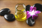 Aromatherapy and spa — Stock Photo