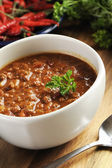 Beef chili — Stock Photo