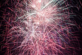 Thirty seconds of fireworks — Stock Photo