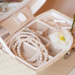 A bride's accessories — Stock Photo