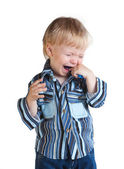 Little boy crying — Stock Photo