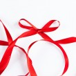 Waved red ribbon — Stock Photo #48468607