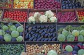 Vegetables stall — Photo