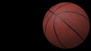 Koszykówka, pętli, bez szwu, animacja — Wideo stockowe