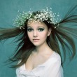 Beautiful Forest Fairy — Stock Photo