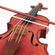 Violin, seamless loop on white background — Stock Video