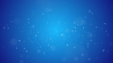 Snow background on blue — Stock Video